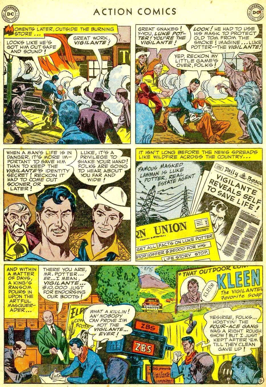 Read online Action Comics (1938) comic -  Issue #165 - 35
