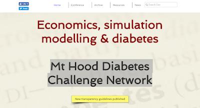 Image of Mt Diabetes Challenge website