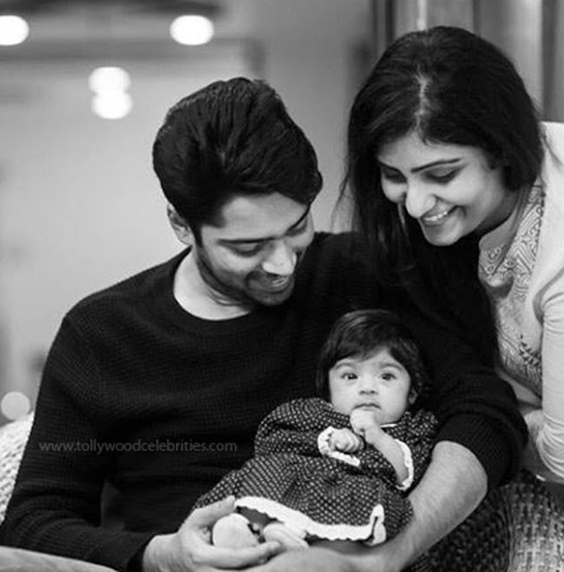 Allari Naresh Daughter Photos