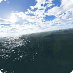 تحميل Fantastic Ocean 3D Screensaver شاشة توقف رائعة  فوق المحيط