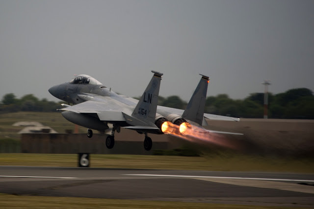USAF F-15 NATO Baltic air policing