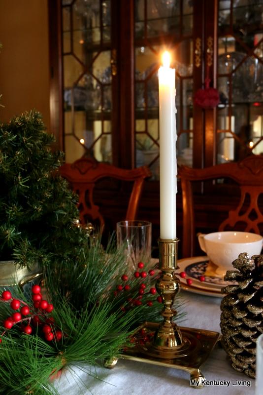 Williamsburg Brass Candlestick