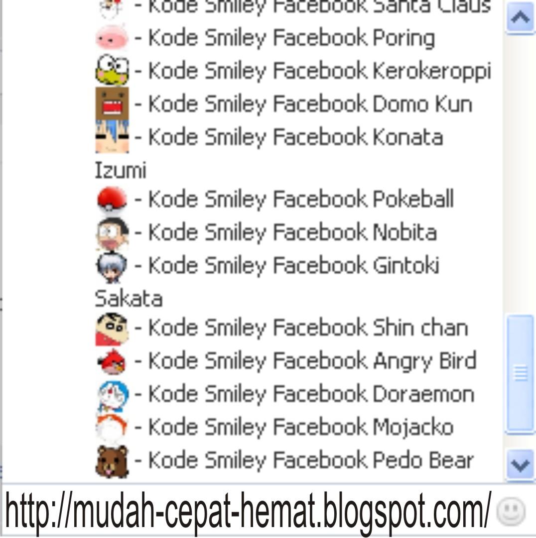 Emoticon Facebook Aneh Terlengkap Terbaru Mei 2015