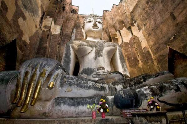 Wat Sri Chum,Phra Achana Buddha Image,Sukhothai Historical Park,Temple,Sukhothai