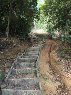 Steps of the Moongate trail