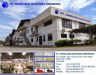 Lowongan Kerja Jobs : Operator Maintenance, Drafter, Account Officer (AO) Lulusan Min SMA SMK D3 S1 PT Haeng Nam Sejahtera Indonesia