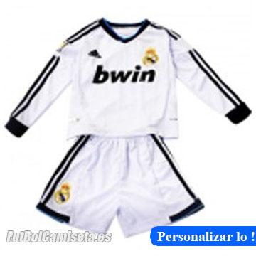 Producto Nombre Camiseta manga larga Real Madrid para ninos 2 EQUIPACIÓN  2012 13 en china por internet 56b4a77f8411e