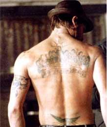 Hot Wallpaper: Brad Pitt Snatch Movie tattoos wallpapers.