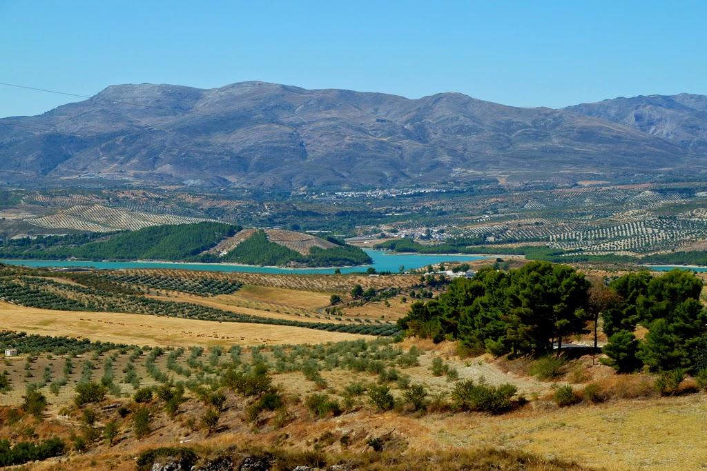 Biking around Andalucia