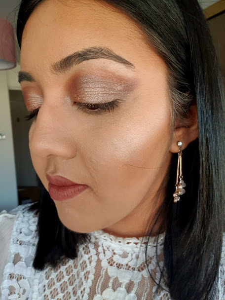pixi natural beauty palette look