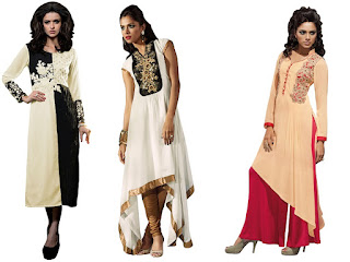 Kurti / Tunic is a longer version of loose top with most of the features of a kurta. it might be shorter, longer or Knee length, an Indian Tunic worn as a top by every age girl & women