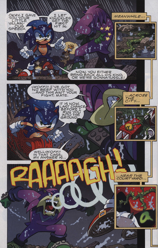 Read online Sonic The Hedgehog comic -  Issue #244 - 30