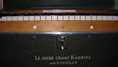 Guide-chant électrifié Kasriel, détail (collection musée)