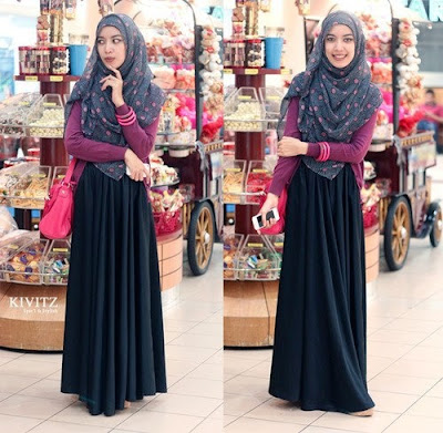 fashion hijab anak kampus model 1