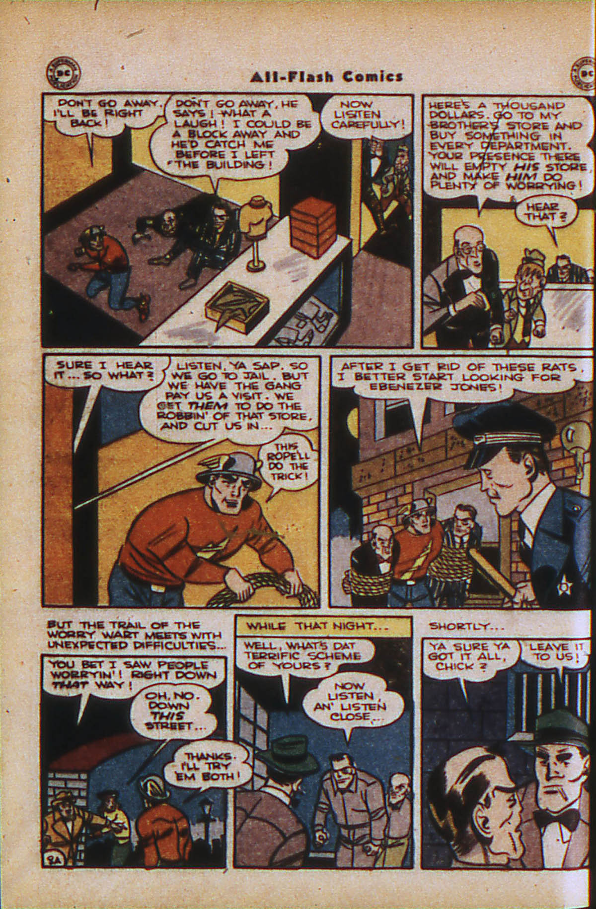 Read online All-Flash comic -  Issue #24 - 10