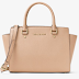 $134.10 (Reg. $298) + Free Ship MICHAEL KORS Selma Saffiano Leather Medium Satchel!