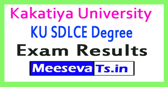 Kakatiya University KU SDLCE Degree Exam Results