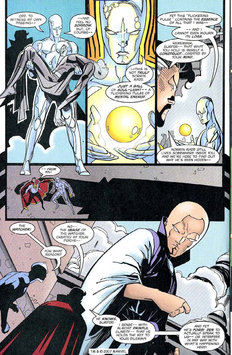 Read online Silver Surfer (1987) comic -  Issue #126 - 24