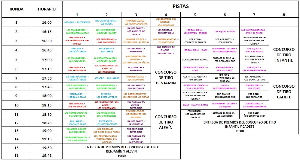 Fdr basket club baloncesto fuente del rey 3x3 lecler 20 for Horario piscinas soria 2016