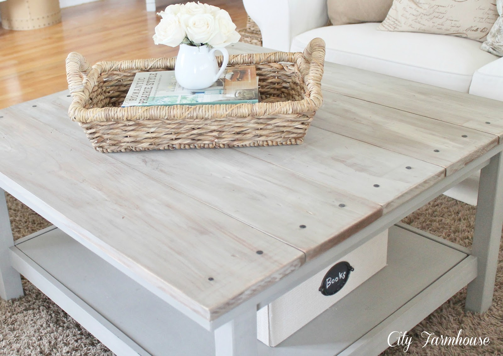 Astounding Ikea Hacked Barnboard Coffee Table Tutorial City Farmhouse Caraccident5 Cool Chair Designs And Ideas Caraccident5Info