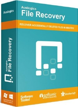 Auslogics File Recovery 8.0.6.0 poster box cover