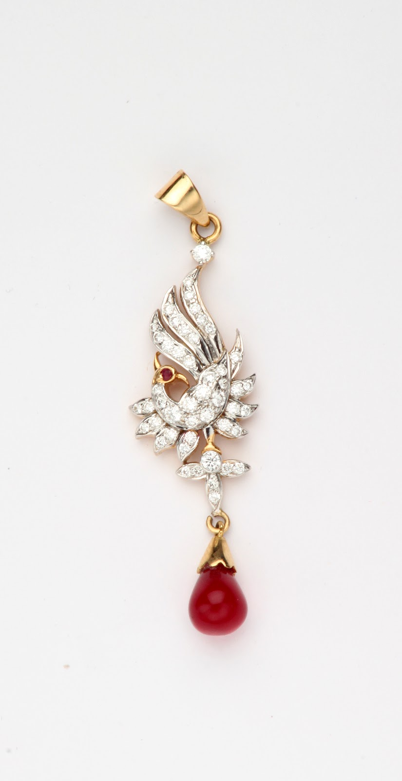 Indian Jewellery And Clothing Peacock Design Pendants And