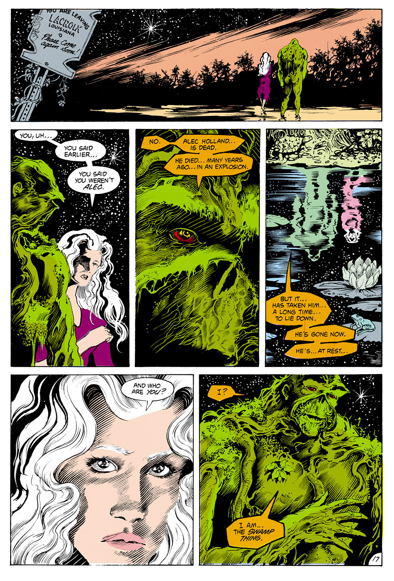 Swamp Thing (1982) Issue #24 #32 - English 18