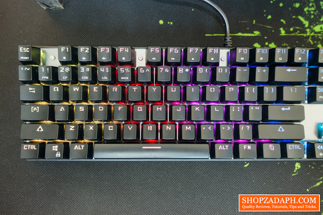 motospeed inflictor ck104 nkro mechanical gaming keyboard review