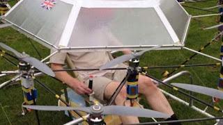 drone mampu terbangkan manusia