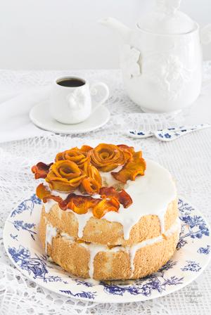 recetario-dulce-caqui-reto-disfruta-noviembre-angel-food-cake