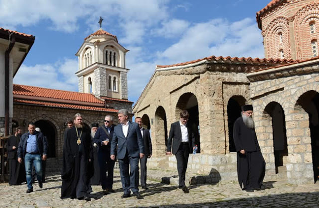 Bishop Tikhon Meets With President Of Macedonia