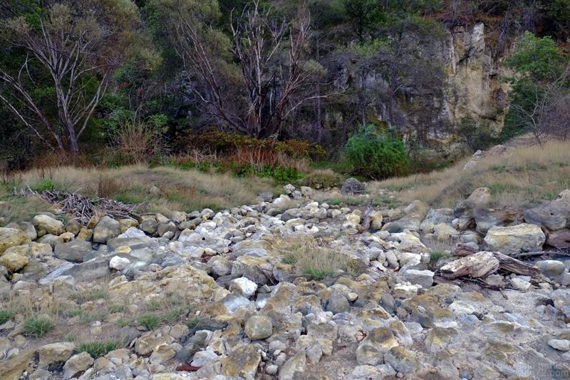 Cascata della Diosilla, panorama