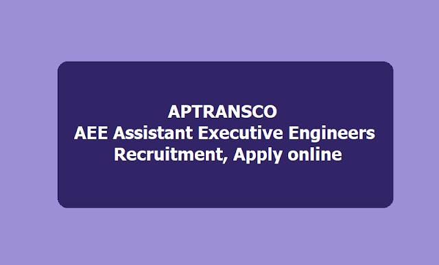 APTRANSCO AEE Assistant Executive Engineers