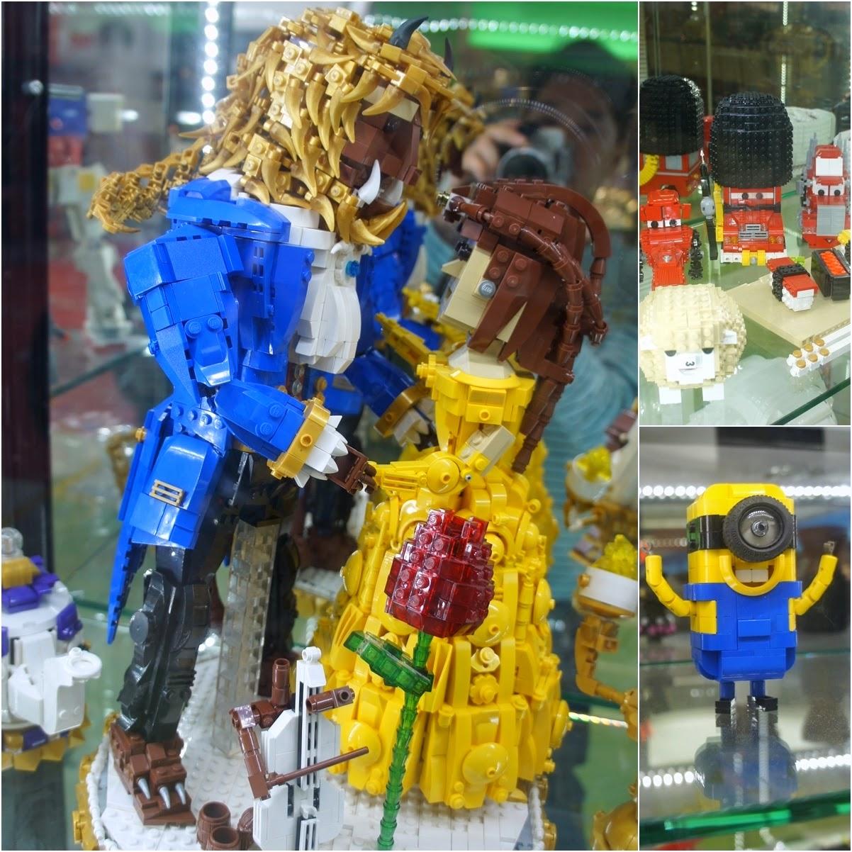 Lego關公像繼續守護旺角 @ 銀行中心 | 大仁生活 – U Blog 博客