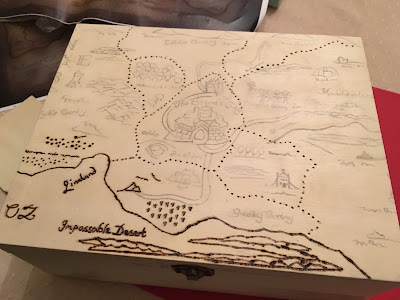 Wicked the Musical Pyrography Box