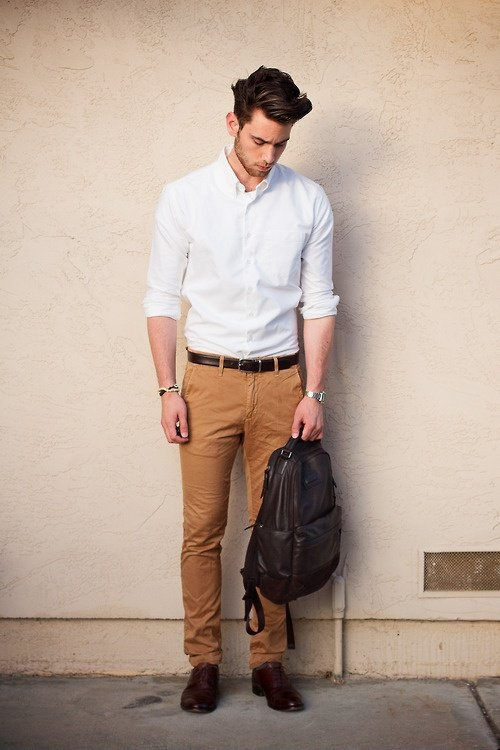 White Shirt With Pant For Men Men Fashion