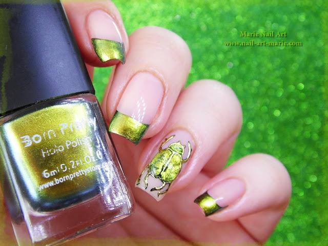 nail art scarabée1