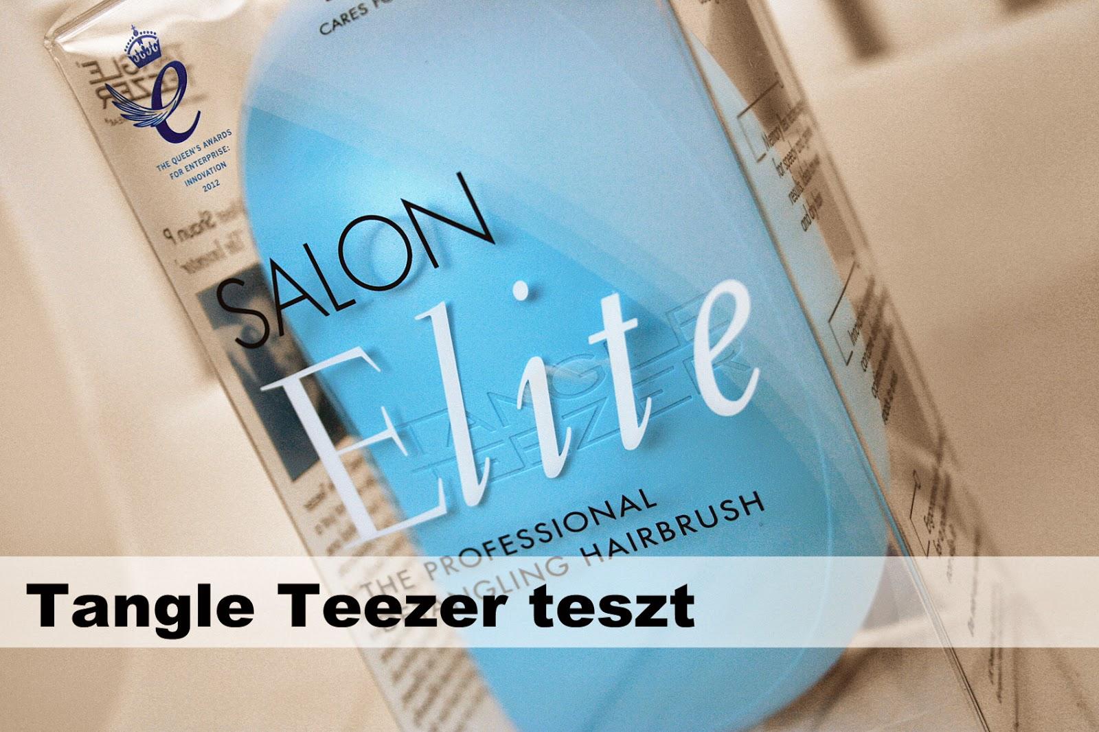 Elite Fashion E Beauty Spa: Fashion In Japan: Tangle Teezer Salon Elite Teszt