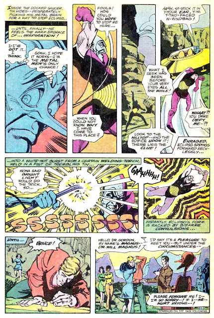 Metal Men v1 #48 dc bronze age comic book page art by Walt Simonson