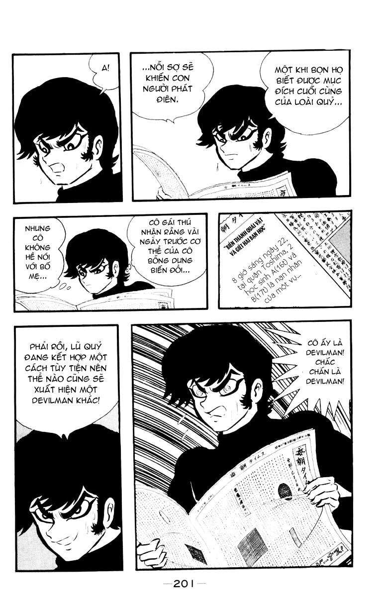 DevilMan chapter 16 trang 2