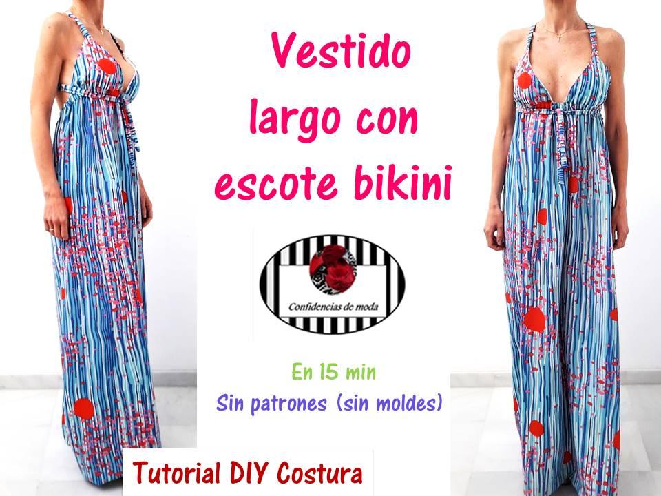Moldes para hacer vestidos de verano