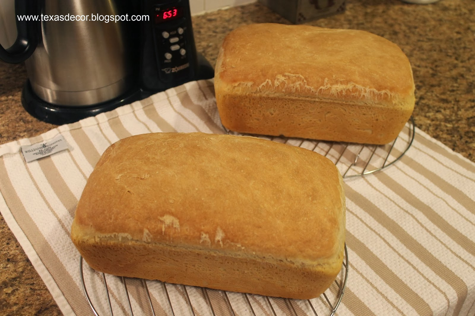 homemade bread in two hours