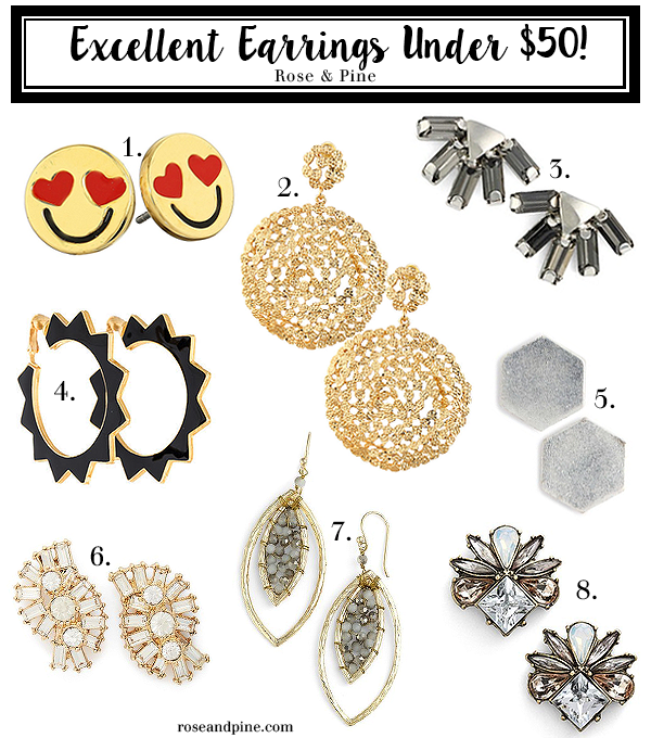 Excelent Earrings Under $50
