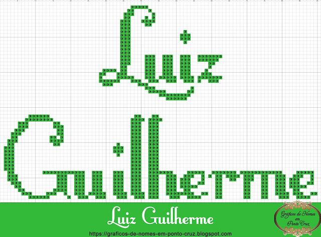 Nome Luiz Guilherme em Ponto Cruz