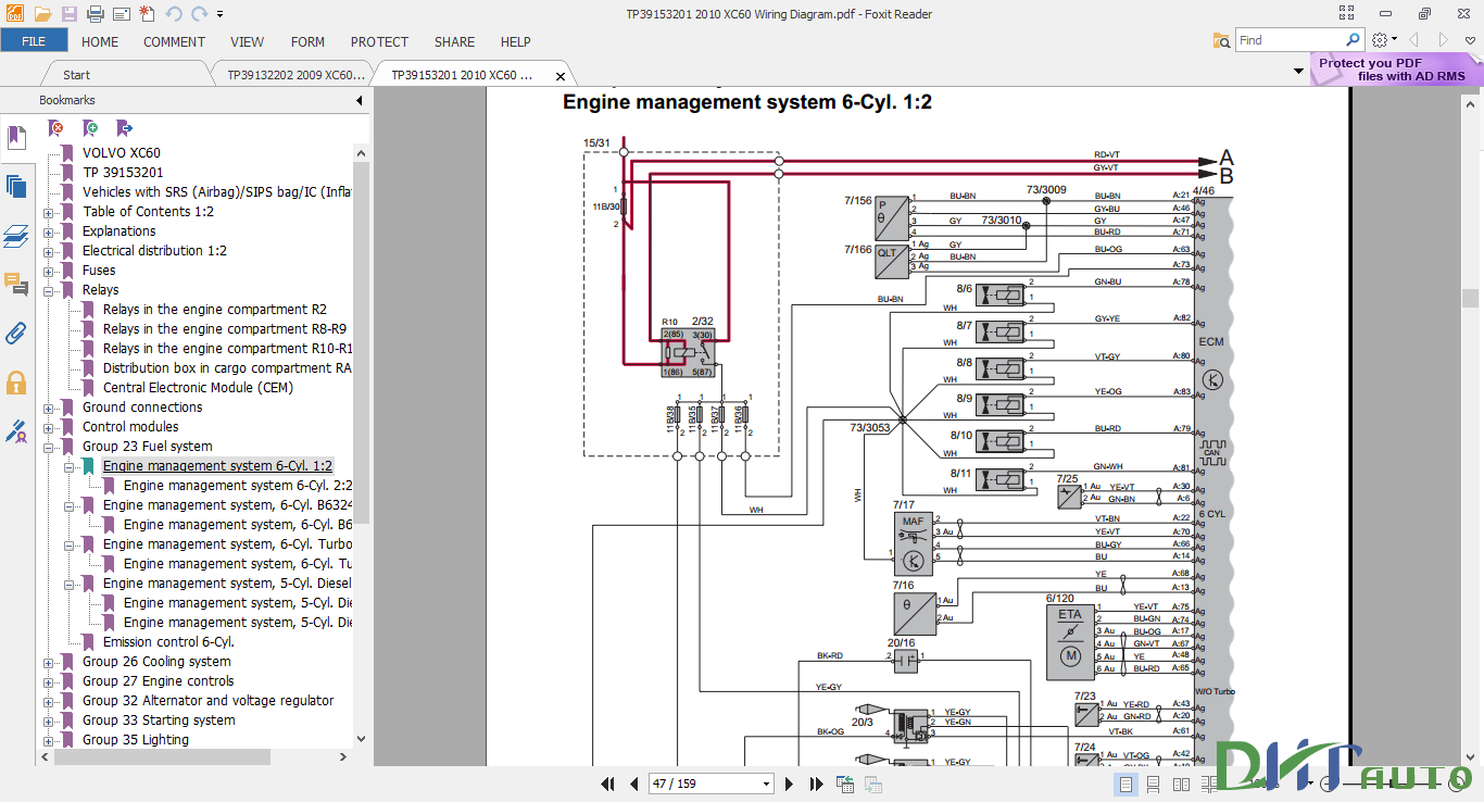 medium resolution of 2011 volvo xc60 wiring diagram trusted wiring diagram 2010 mercury milan wiring diagram 2010 volvo xc60