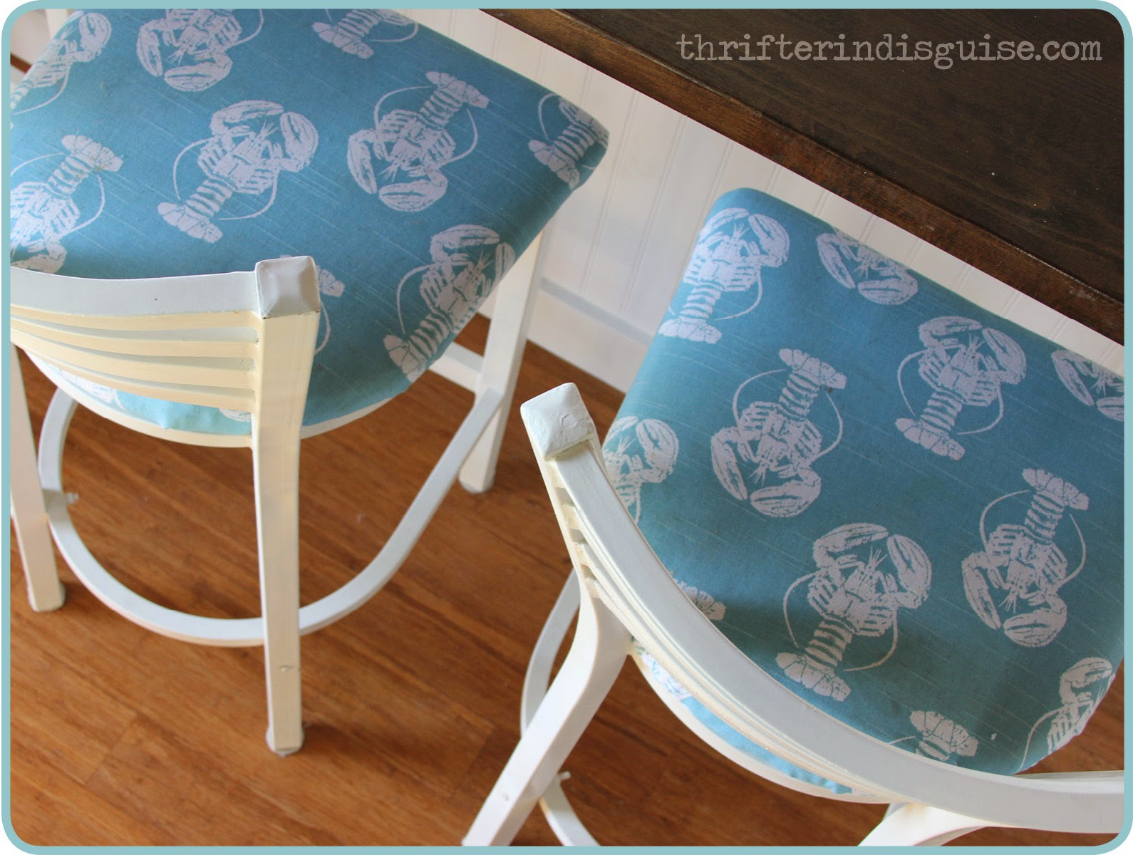 Bar Stool Makeover Fabric