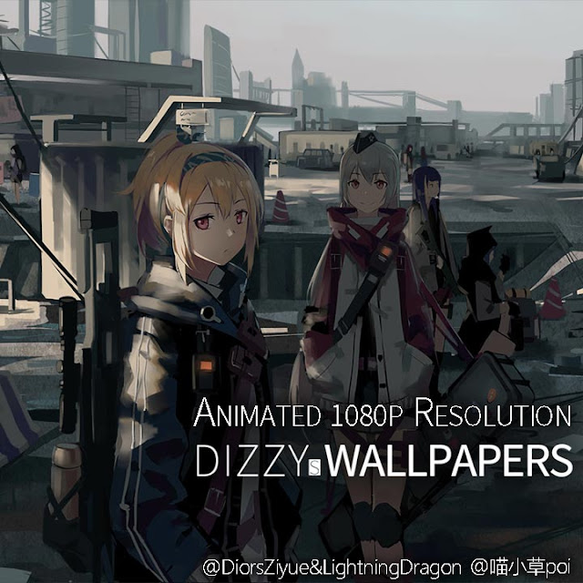 Girls' Frontline SV-98 SVD Wallpaper Engine