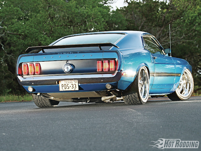 Hot Rod Ford Mustang Mach 1 - 1969  picture gallery
