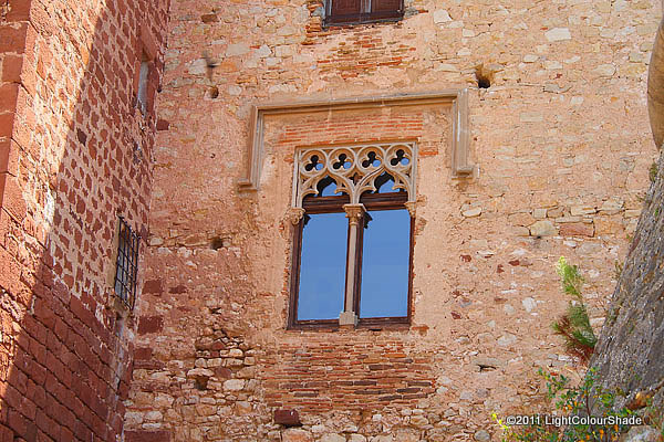 Ancient castle window