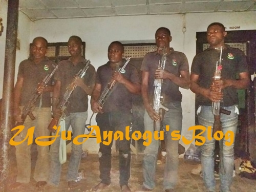 Benue Killings: Nigerian Military Arrest 9 Gang Members with AK47 Riffles (Photos)